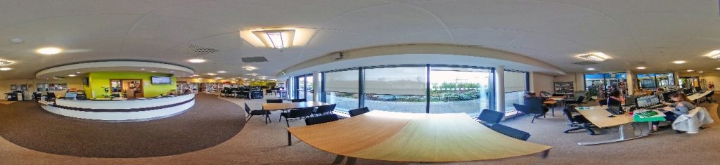 360 degree image of the eLearning Centre at the Bridlington Campus