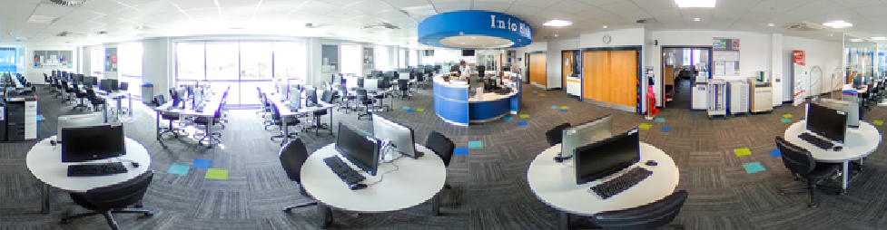 360 degree image of the eLearning Centre at the Beverley Campus