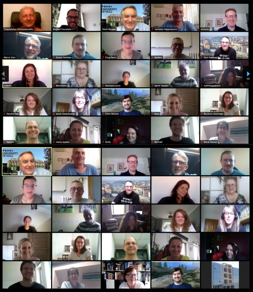 SEPA360 Virtual Group Photo (taken in July 2020).